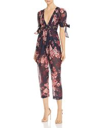 2658d414727a Alice McCALL - Everything Plunging Floral Jumpsuit - Lyst