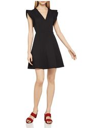 BCBGeneration - Flutter Sleeve Fit-and-flare Dress - Lyst