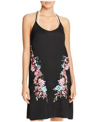 Lucky Brand - Zen Garden Cover-up Dress - Lyst