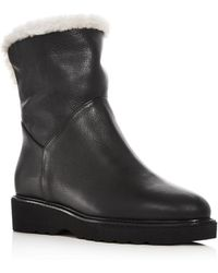 Aquatalia - Women's Kimberly Shearling & Weatherproof Leather Boots - Lyst