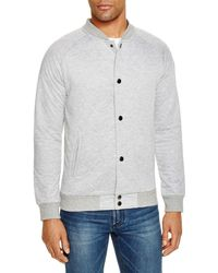 Sovereign Code - Princeton Quilted Snap Sweatshirt - Lyst
