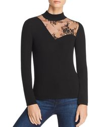 Generation Love - Candace Lace-inset Top - Lyst