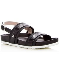 Taryn Rose - Women's Sandra Leather Platform Sandals - Lyst