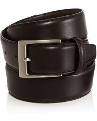 Canali - Canals Basic Smooth Leather Belt - Lyst