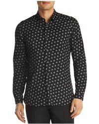 The Kooples   Giant Dots Slim Fit Button-down Shirt   Lyst
