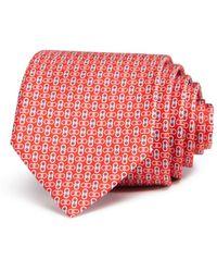 Ferragamo - Enne Mini Linked-gancini Silk Classic Tie - Lyst