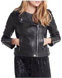 BCBGeneration - Leather Moto Jacket - Lyst