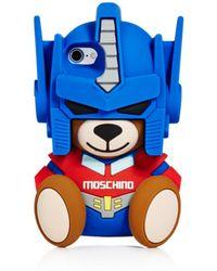Moschino - Bear Iphone 7 Case - Lyst