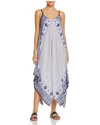 Tommy Bahama - Tika Tiles Scarf Dress Swim Cover-up - Lyst