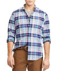 Polo Ralph Lauren - Plaid Classic Fit Button-down Shirt - Lyst