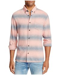Surfside Supply - Gradient Stripe Long Sleeve Button-down Shirt - Lyst