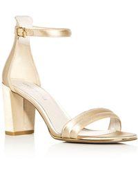 Kenneth Cole - Women's Lex Satin Ankle Strap High-heel Sandals - Lyst