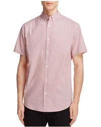 Oxford Lads - Geometric Print Slim Fit Button-down Shirt - Lyst