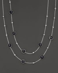 Ippolita - Sterling Silver Rock Candy Mini Lollipop And Ball Necklace In Black Onyx - Lyst