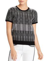 Ralph Lauren - Lauren Geometric-print Sweater - Lyst