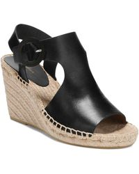 Via Spiga - Women's Nolan Leather Espadrille Wedge Sandals - Lyst