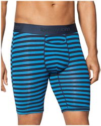 Tommy John - Second Skin Striped Boxer Briefs - Lyst