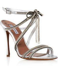 0c9f7678372f2 Tabitha Simmons - Women s Iceley Rhinestone Bow High-heel Sandals - Lyst