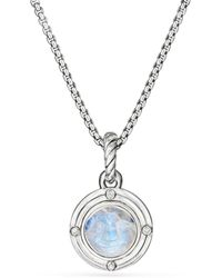 David Yurman - Moon Amulet In Rainbow Moonstone - Lyst