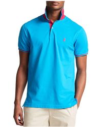 Thomas Pink - Brandon Plain Classic Fit Polo - Lyst
