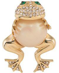 Carolee - Hugging Frog Pin - Lyst