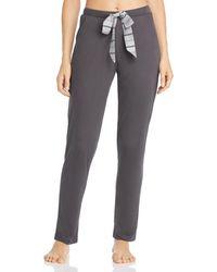 bac37b0f36f42 Hanro - Malie Stripe - Drawstring Knit Pants - Lyst