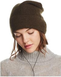 Rebecca Minkoff - Beanie With Wired Headphones - Lyst