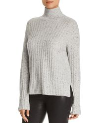 C By Bloomingdale's - Donegal Cashmere Rib-knit Turtleneck Jumper - Lyst