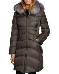 Dawn Levy - Cloe Saga Fur Trim Mid-length Down Coat - Lyst