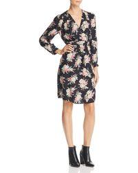 Rebecca Taylor - Bouquet Floral-silk Dress - Lyst