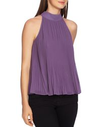 1.STATE - Pleated Chiffon Top - Lyst