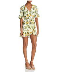 Lost + Wander - Limonada Ruffled Mini Dress - Lyst