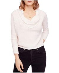 Free People - Wildcat Thermal Sweater - Lyst