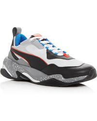 PUMA - Men's Thunder Electric Lace Up Trainers - Lyst