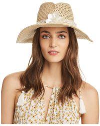 Eric Javits - St Tropez Embellished Hat - Lyst