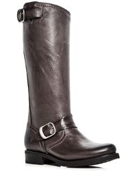 Frye - Women's Veronica Leather Engineer Boots - Lyst