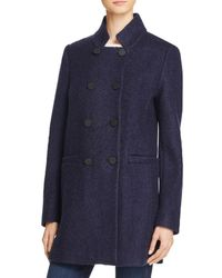 T Tahari - Harper Double-breasted Front Coat - Lyst