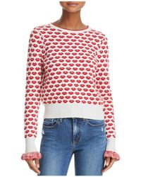 French Connection - Kiss Print Jumper - Lyst