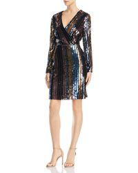 Sam Edelman - Striped Sequin Dress - Lyst
