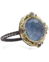 Armenta - Diamond And White Sapphire Ring - Lyst