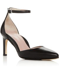 Taryn Rose - Women's Graziella Leather Pointed Toe Court Shoes - Lyst