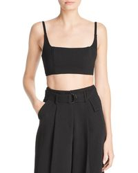 Fame & Partners - The Augusta Cropped Tank - Lyst