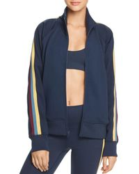 Spiritual Gangster - Striped-sleeve Track Jacket - Lyst