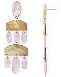 Kendra Scott - Emmet Chandelier Earrings - Lyst