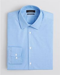 Bloomingdale's - End-on-end Solid Dress Shirt - Regular Fit - Lyst