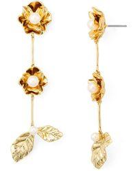 Kate Spade - Botanical Drop Earrings - Lyst