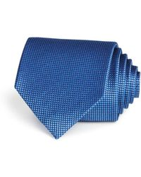 Bloomingdale's - Basic Textured Solid Classic Tie - Lyst