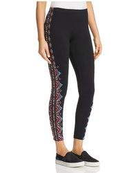 Johnny Was - Sonoma Embroidered Leggings - Lyst