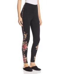 Johnny Was - Joanna Embroidered Leggings - Lyst