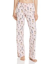 Pj Salvage - Dog Flower Crown Trousers - Lyst